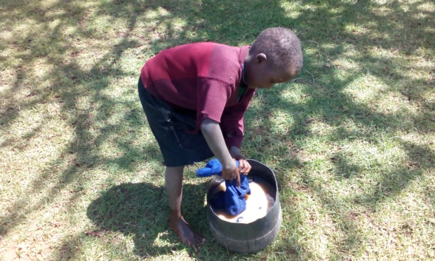 Over 75 percent of children and adolescents experience limited access to safe water and improved sanitation.