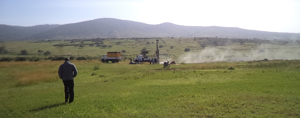 Drilling For Water In Samburu At Ledero Primary School